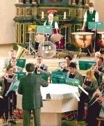 Der Musikverein Talheim konzertiert in der katholischen Kirche. Foto: Döttling