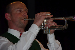 Abb. 1: Trompetensolist und Vize-Dirigent Frank Dreeßen