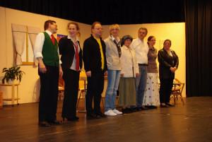 Abb. 2: Die Theater-Laienspielgruppe des Musikvereins Talheim