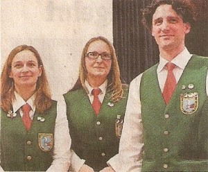 Anja Bader, Silke Feierabend und Jürgen Schmalzbauer (von links). Foto: Weimar