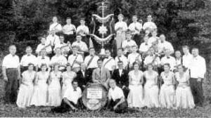 Schellenbaumweihe 1952